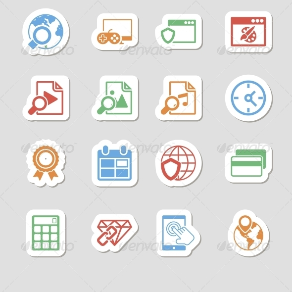 GraphicRiver Seo Icons as Labes Vol 3 6634887