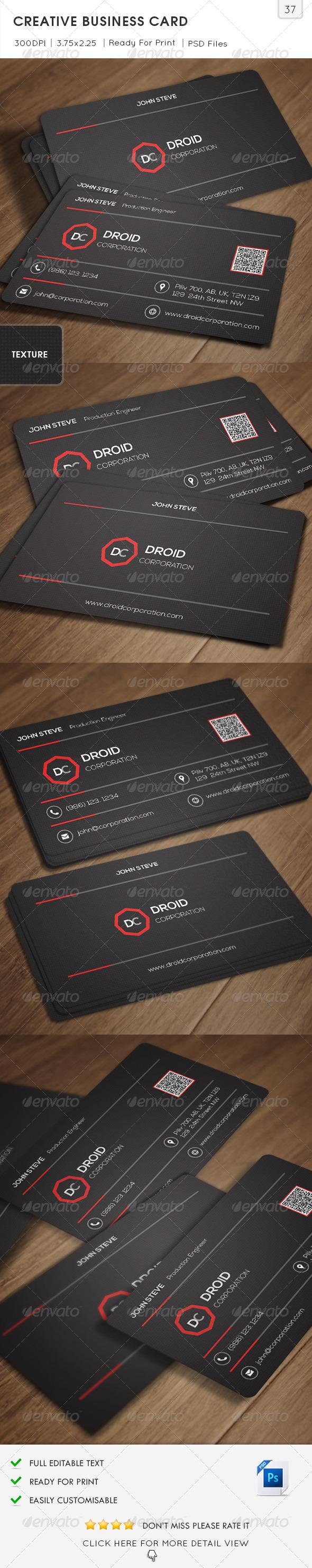 GraphicRiver Creative Business Card v37 6636017