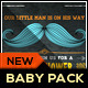 Little Man Mustache Baby Shower Invitation - GraphicRiver Item for Sale
