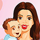 Mother Holding Her Baby - GraphicRiver Item for Sale