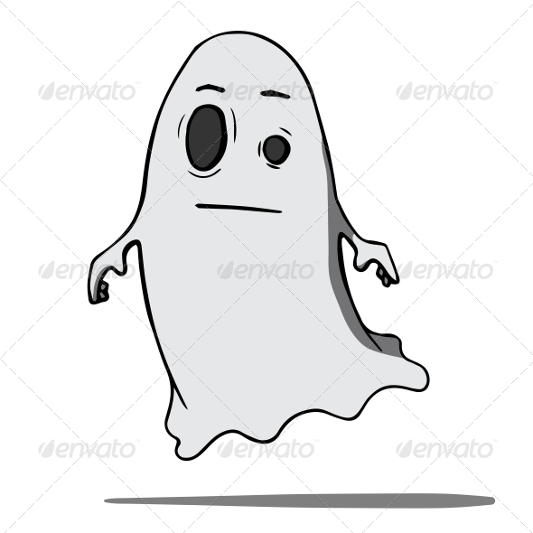 GraphicRiver Cartoon Ghost 6636878