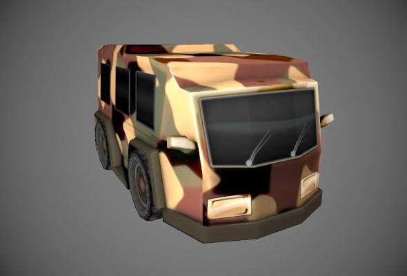 3DOcean Armored Van 6638495