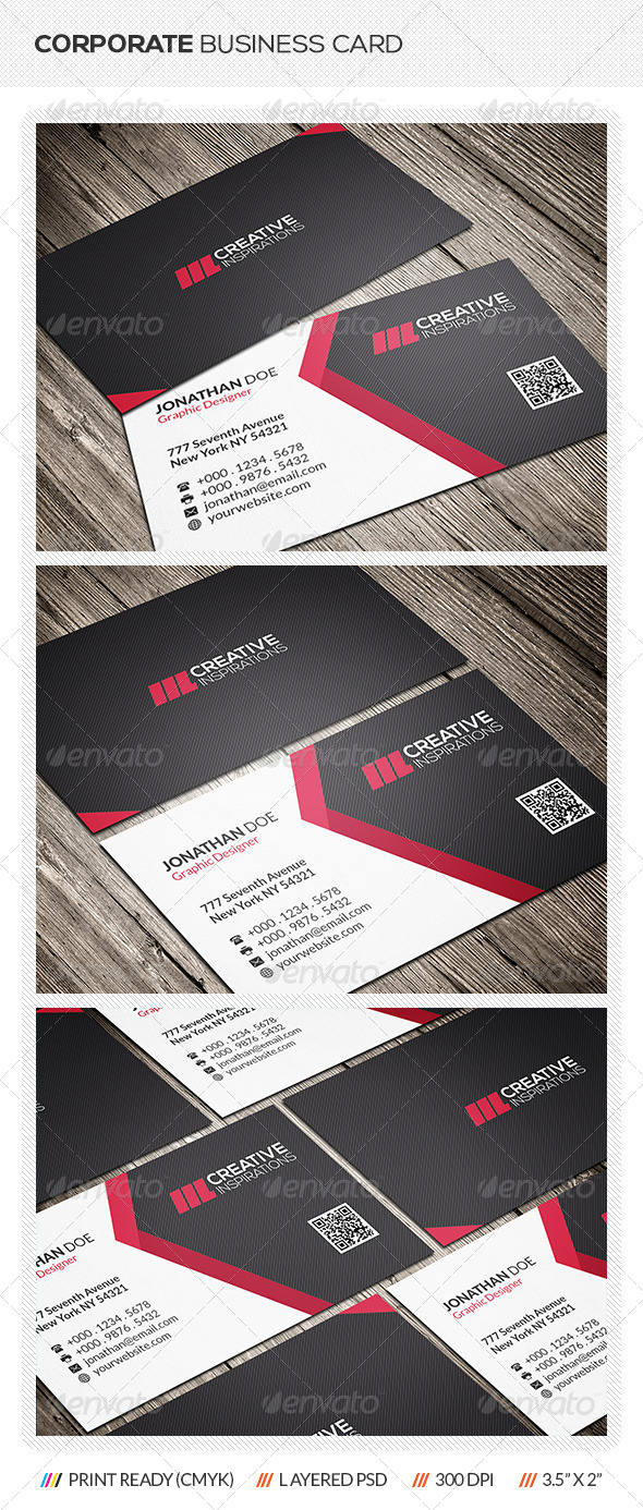 GraphicRiver Modern Business Card 6640833