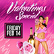Valentine Special Flyer - GraphicRiver Item for Sale