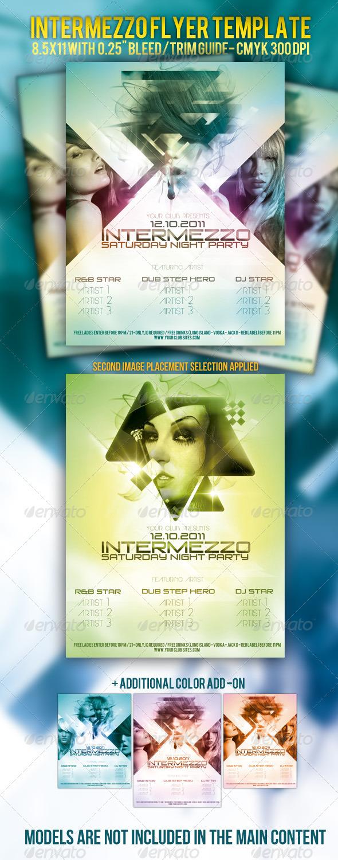 GraphicRiver Intermezzo Party Flyer Template 696491