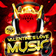 Valentine`s Love Music Flyer Vol.4 - GraphicRiver Item for Sale