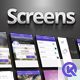 Screens Auto Arranger (Mock-UP actions) - GraphicRiver Item for Sale