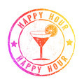 Happy Hour stamp - PhotoDune Item for Sale