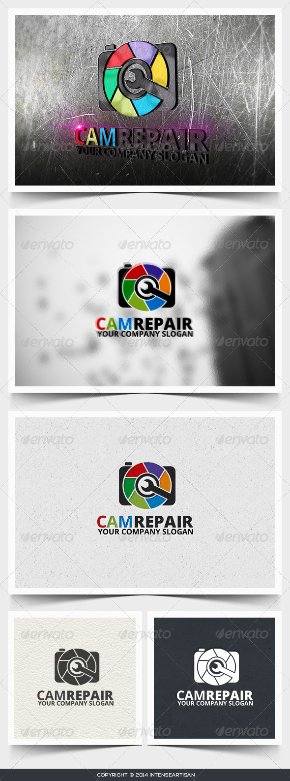 Camrepair Logo Template - Objects Logo Templates