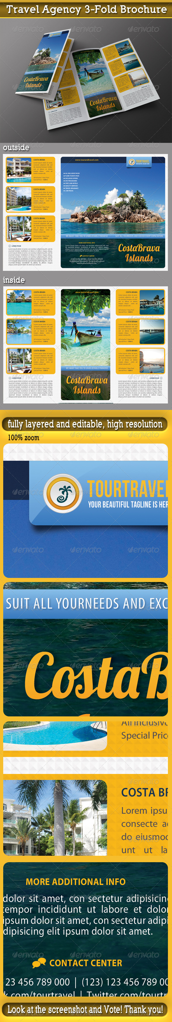 GraphicRiver Travel Agency 3-Fold Brochure 04 6643349