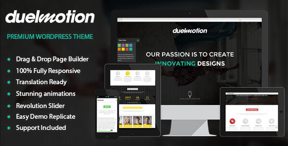 ThemeForest Duelmotion Responsive Onepage Parallax Theme 6623992