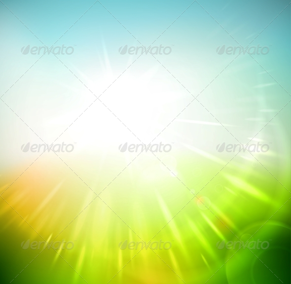 GraphicRiver Spring Abstract Background 6643679