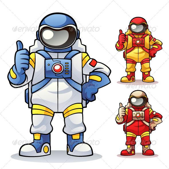 GraphicRiver Astronaut 6643999