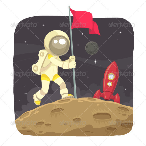 GraphicRiver Space Adventurer 6644019