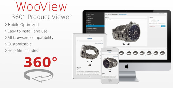 CodeCanyon WooView 360Ўг Product Viewer 6601190