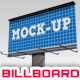 Billboard Mockup - GraphicRiver Item for Sale