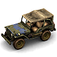 Military Modern War Jeep (Blue) - 3DOcean Item for Sale