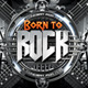 Born to Rock Flyer - GraphicRiver Item for Sale