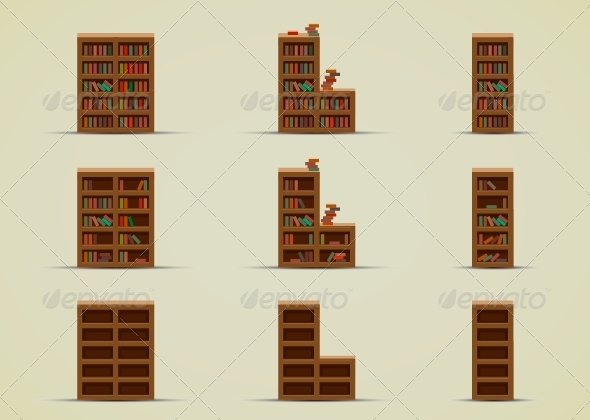 GraphicRiver Wardrobes for Books 6647923