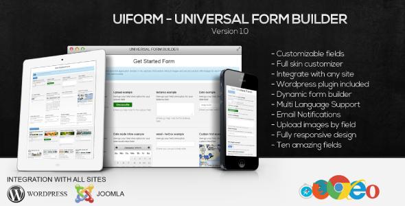 CodeCanyon uiForm Universal Form Builder 6648154