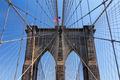 American Flag on the Brooklyn Bridge, New York City - PhotoDune Item for Sale