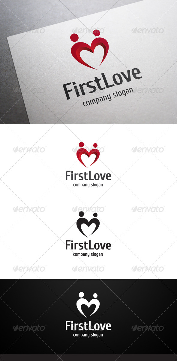 GraphicRiver First Love Logo 6648180