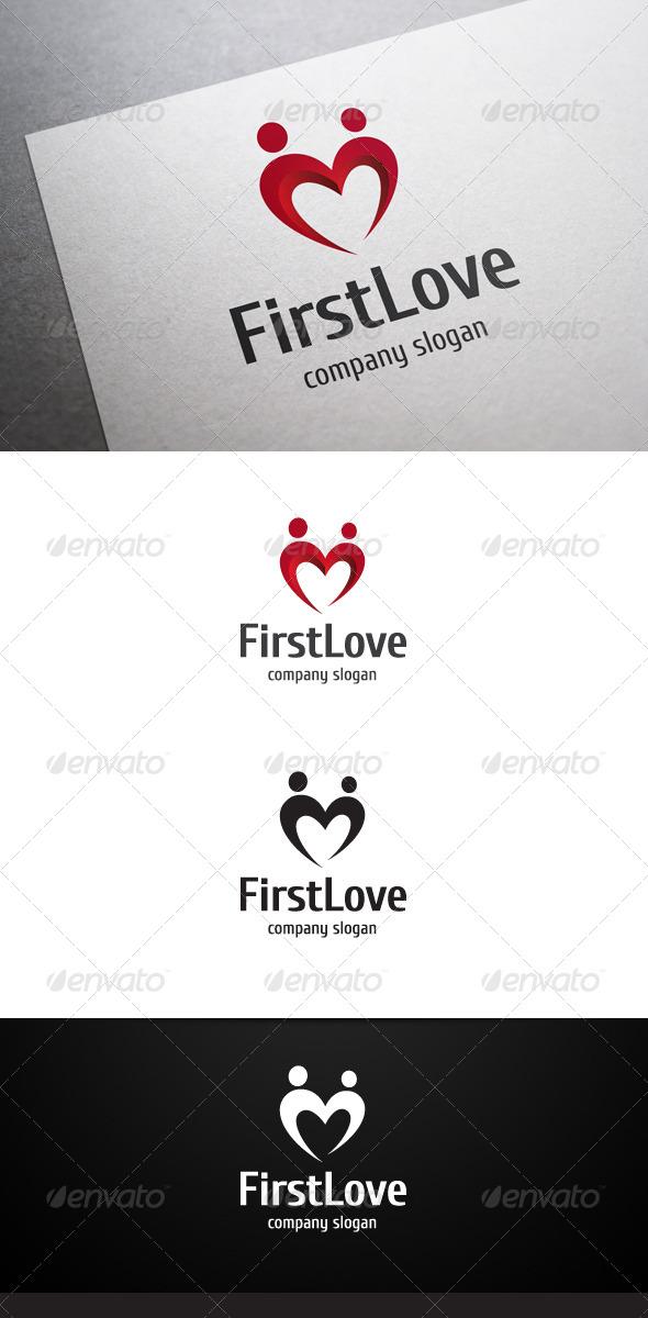 GraphicRiver First Love Logo 6648180