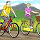 Seniors Riding Bicycles - GraphicRiver Item for Sale