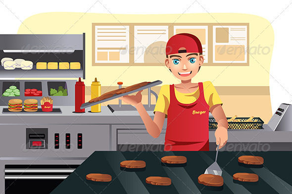 GraphicRiver Cooking Fast Food 6648572