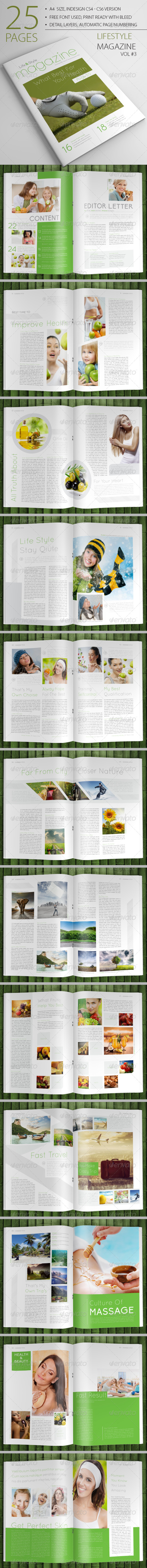 GraphicRiver 25 Pages Lifestyle Magazine Vol3 6643112