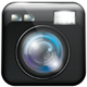 App Icon with Camera Lens and Flash Light - GraphicRiver Item for Sale