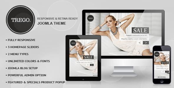 ThemeForest Trego Premium Responsive Joomla Theme 6650123