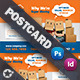 Moving House Postcard Template - GraphicRiver Item for Sale