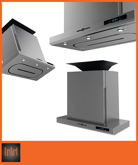 3DOcean Kitchen hood 6651555