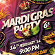 Mardi Gras Carnival Flyer - GraphicRiver Item for Sale