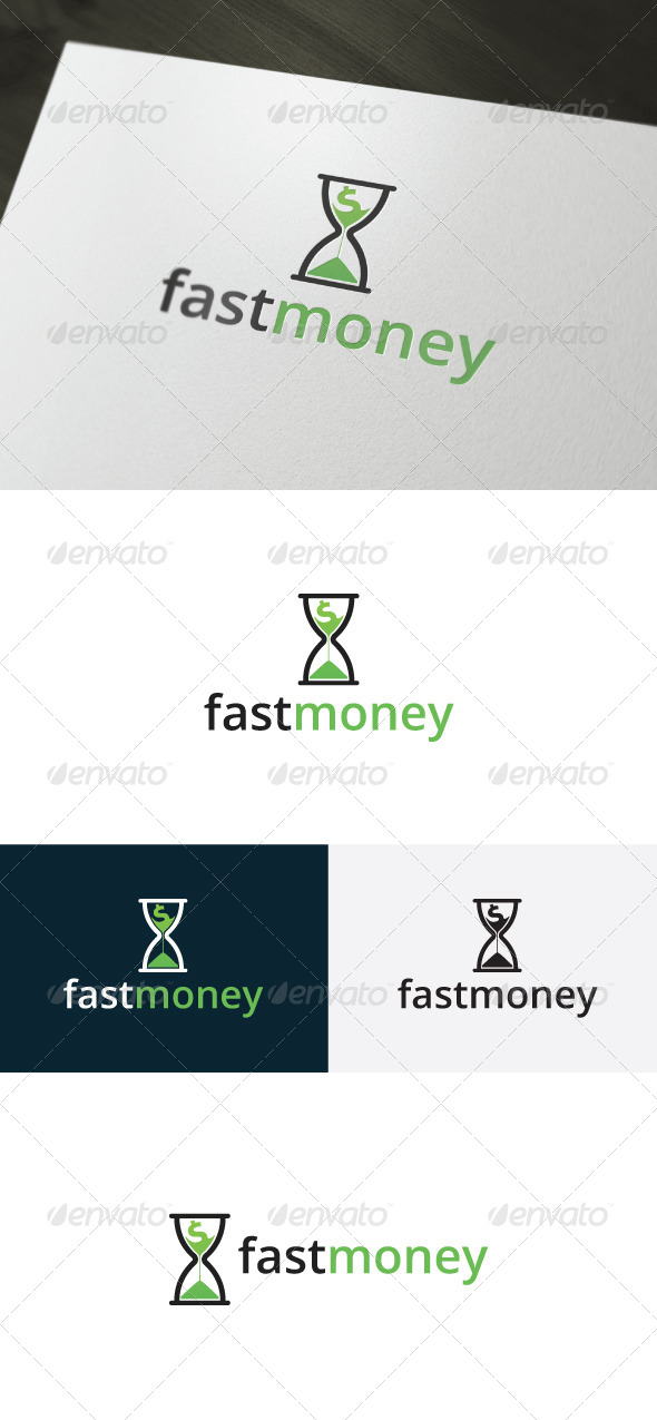 GraphicRiver Fast Money Logo 6642438