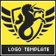 Hippocampus Logo Template - GraphicRiver Item for Sale