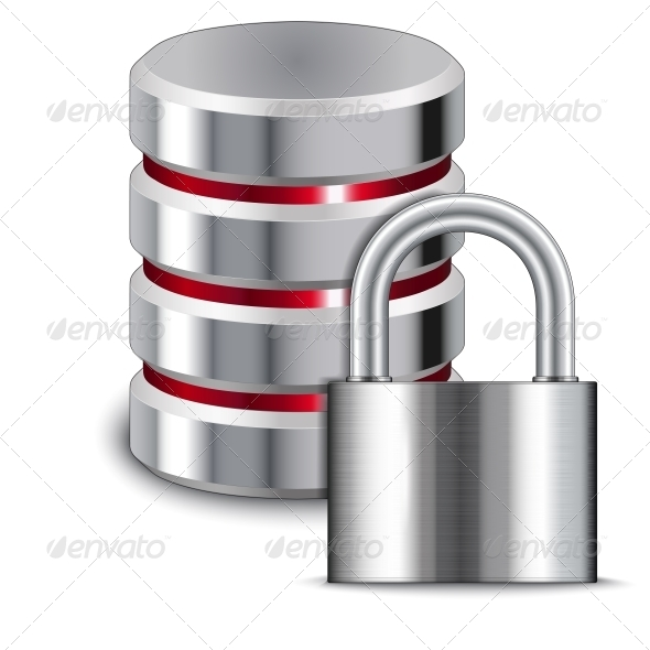 GraphicRiver Padlock Protects Database 6652283