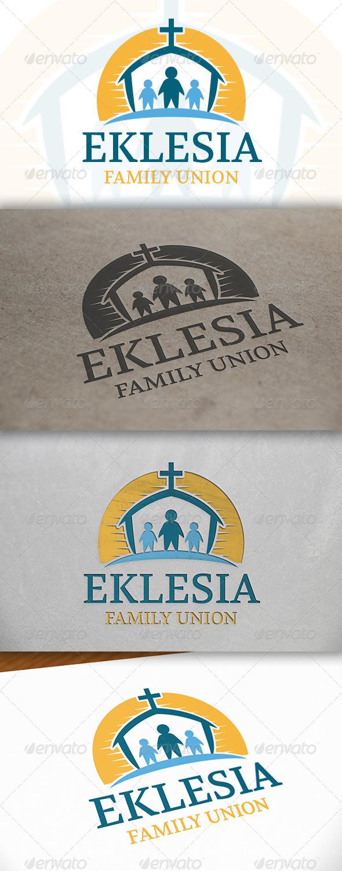 GraphicRiver Family Church Logo 6652585