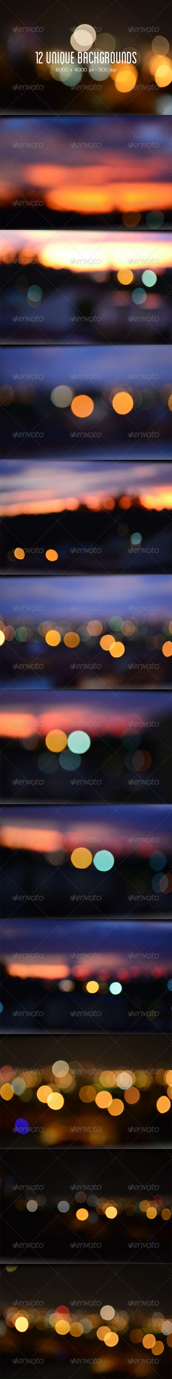 GraphicRiver 12 Bokeh Blurred Backgrounds 6652606