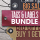 86 Tags and Labels Bundle - GraphicRiver Item for Sale