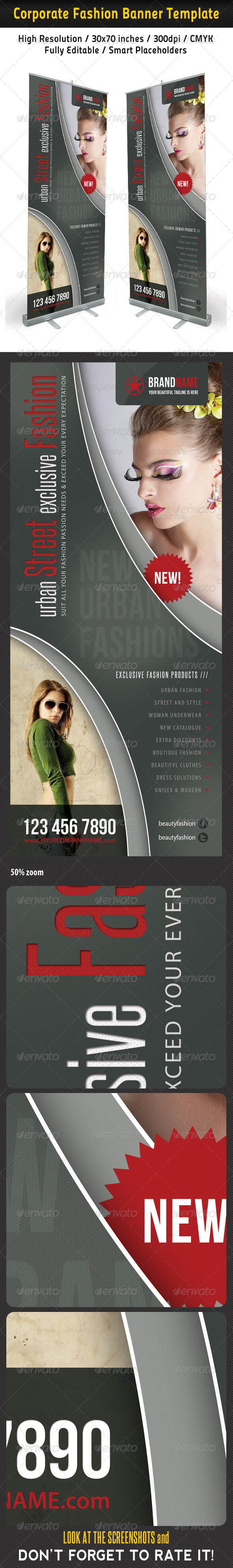 Fashion Multipurpose Banner Template 28 - Signage Print Templates