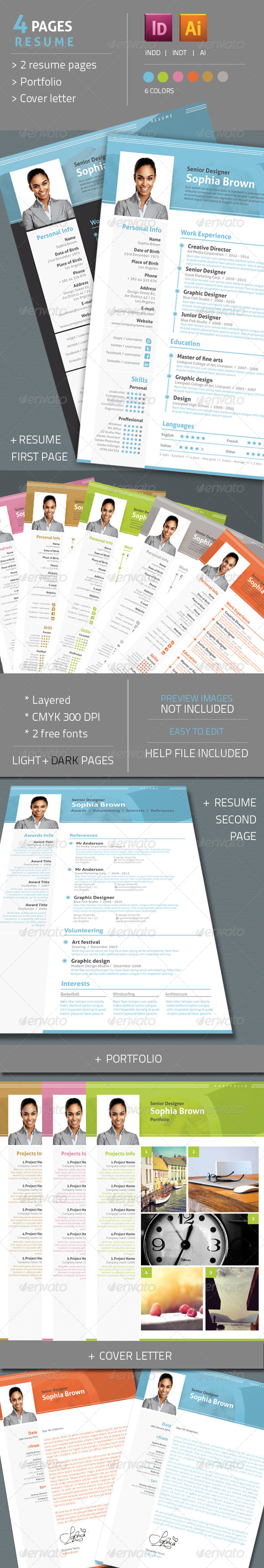 GraphicRiver Resume CV 6654889