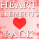 Heart Elements Pack - VideoHive Item for Sale