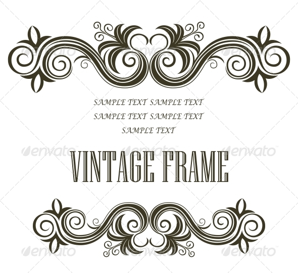 GraphicRiver Vintage Framing Header and Footer 6655685