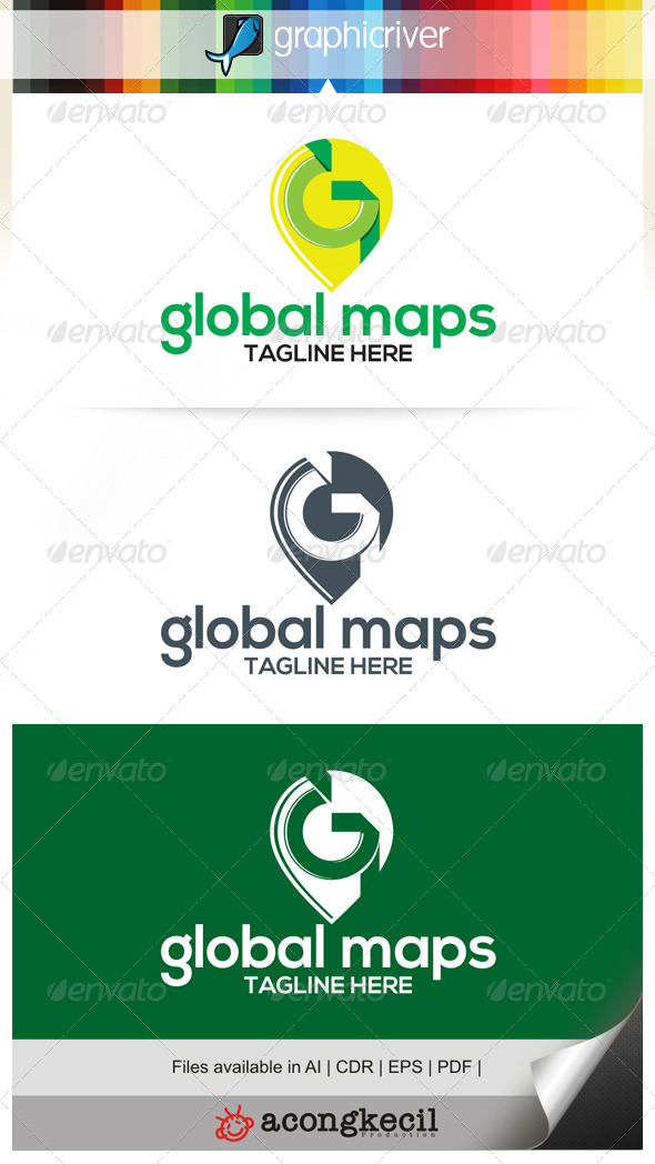 GraphicRiver Global Maps 6655891