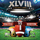 XLVIII Football Game Flyer Template - GraphicRiver Item for Sale