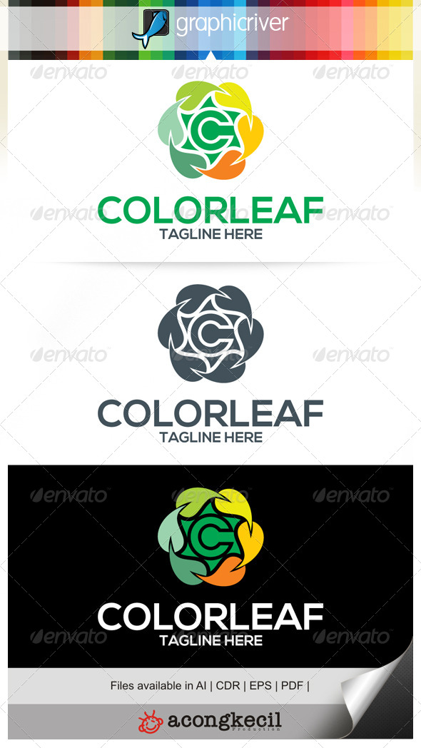 GraphicRiver Color Leaf 6655922
