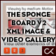 THE SPONGE BOARD VERSION 2 XML IMAGE &amp;amp; VIDEO GALLERY with category and tag sorting - ActiveDen Item for Sale