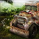 Jungle Death Racer Vehicle  - 3DOcean Item for Sale